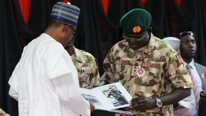 Bahari and Chief of Army Staff