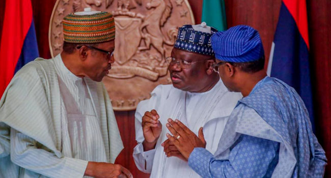 Buhari-Lawan-and-Gbajabiamila