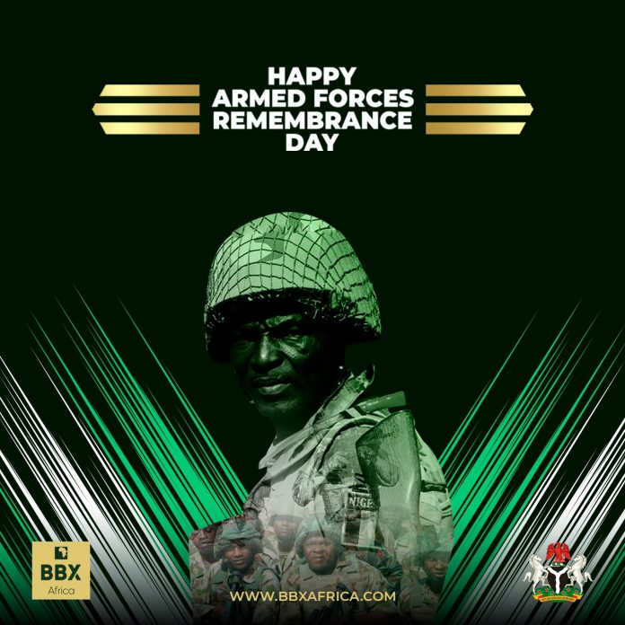 Armed Forces Remembrance Day, Nigeria.